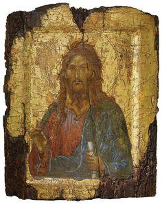 Saint John the Baptist, Constantinople, Turkey, circa 1300, egg tempera on wood.