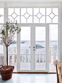 Home Interior Design, Exterior Design, Interior And Exterior, Glass Porch, Diy Inspiration, Ikea, House Entrance, Other Rooms, Dream Bedroom