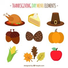Thanksgiving free vector- More than a million free vectors, PSD, photos and free icons. Exclusive freebies and all graphic resources that you need for your projects
