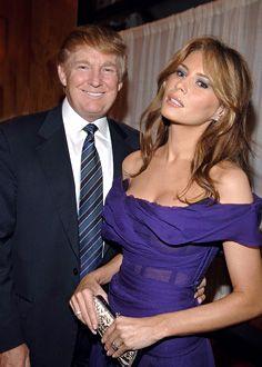 Donald and Melania Trump - Sex and the City movie premiere - Radio City Music Hall
