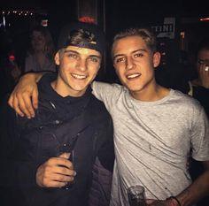 Martin garrix and a friend