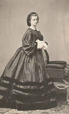 Youngest Sister to Elisabeth -  Duchess Sophie Charlotte Augustine in Bavaria (23 February 1847 - 4 May 1897) was a granddaughter-in-law of King Louis-Philippe of France, the favourite sister of Empress Elisabeth of Austria.