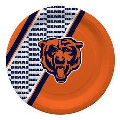 Chicago Bears Paper Plates - Tailgate Party Supplies - 20 per Pack SmileMakers http://www.amazon.com/dp/B00LA6KDKA/ref=cm_sw_r_pi_dp_kbXvub1YTE9Q5