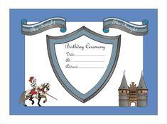 Ο ιππότης, το κάστρο, μια πριγκίπισσα και η άμαξα-all free printables ~ Είμαι παιδί