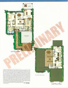 Bellalago Montacino Floor Plans in Kissimmee FL