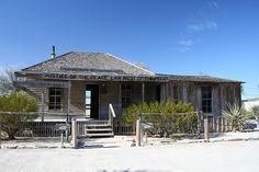 Judge Roy Bean Museum ~ Langtry, Texas