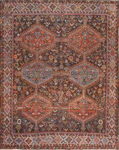 Antique Tribal Afshar Persian Rug 47579 Thumbnail - By Nazmiyal