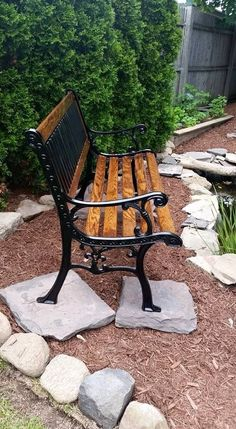 Diy How To Restore A Cast Iron And Wood Garden Bench Diy
