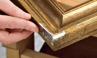 Öl-Gemälde restaurieren: Schritt 5 von 11 Barware, Coasters, Decorative Boxes, Home Decor, Old Picture Frames, Palette Knife, Canvas Frame, Decoration Home, Room Decor
