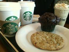 Día 82: no puede faltar un Starbucks con Alba! <3