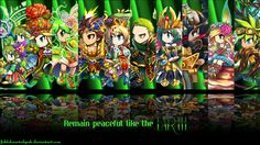 Brave Frontier earth units