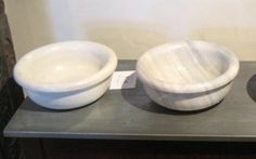 Marble sinks with rolled edge