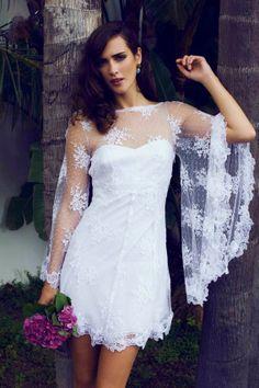 Short bride gown Ibiza Charo Ruiz