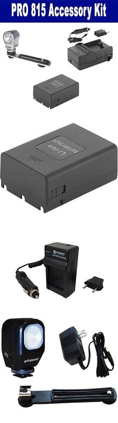 Batteries and Power Accessories: Samsung Pro 815 Accessory Kit Of: Sdm-806 Charger, Battery, On Cam Lighting -> BUY IT NOW ONLY: $36.16 on eBay!