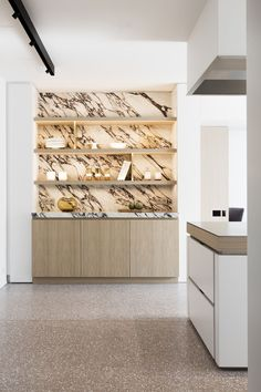 Kitchen Design by Annick Grimmelprez in collaboration with Obumex