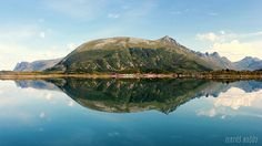 Feet on the air Norway, Reflection, Beautiful Pictures, Mountains, Water, Travel, Landscapes, Gripe Water, Paisajes