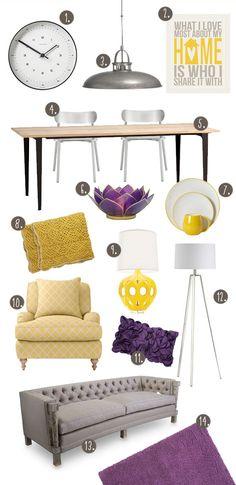 48 best new kitchen inspiration images colors furniture purple rh pinterest com