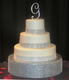 Discover the best ideas for Cake & Desserts! Read articles and watch videos about Cake & Desserts. Fantasy Wedding, Dream Wedding, Got Married, Getting Married, Wedding Cales, White Springs, Kansas City Wedding, Blue Accents, Wedding Photos