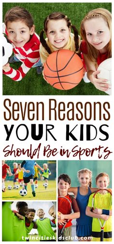Twin Cities Kids Club Blogs: Seven Reasons Your Kids Should Be in Sports - If you have kids in sports right now, you might dread all the practices and games that fill your calendar. But if you have seen the way your son lights up after hitting their first baseball, or the way your daughter smiles after making her first basket, you know there is something special about playing sports. #kids #games #fungames #indoorgames #kids #kidsactivities #gameday #gameart #gamenight #kidsroomideas… Activities For 2 Year Olds, Indoor Activities, Infant Activities, Step Parenting, Parenting Hacks, 3 Year Olds, Educational Crafts, Twin Cities, Our Kids