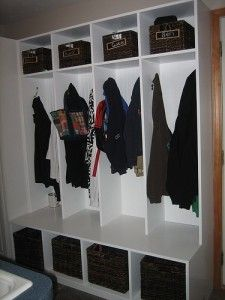 Storage solutions for all your kids stuff. lockers – Carpentry and Home Improvement Ideas