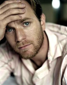 Ewan McGregor...and i just turned into a puddle of goo.