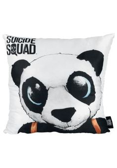"Cuscino decorativo ""Panda"" di #SuicideSquad."