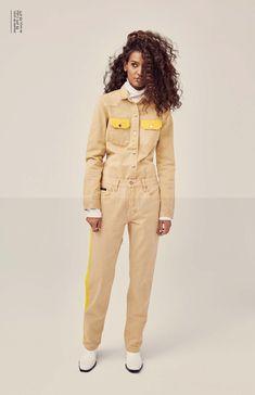 Liya Kebede Models Calvin Klein Jeans for Elle Brazil Cover Story Liya Kebede, Pamela Hanson, Grunge, London Models, Dope Fashion, Fashion Story, Photoshoot Inspiration, Calvin Klein Jeans, Model Agency