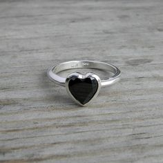 black heart engagement ring?