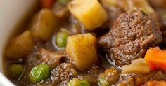 Slow Cooker Bison and egetable Stew :http://recipes4slowcooker.com/slow-cooker-bison-and-egetable-stew/
