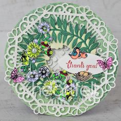 Double Dot, Elegant Centerpieces, Heartfelt Creations, Summer Wreath, Greeting Cards Handmade, Cardmaking, Paper Crafts, Wreaths, Projects