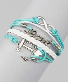Cute Bracelet - Infinity, Love, Anchor
