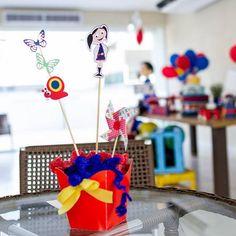 """Sugestões para festa no tema """"O Show da Luna"""" – Blog Inspire sua Festa ®"""