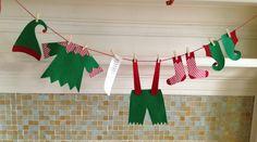 Jour de lessive à la décoration de Noël du pôle par primsandproper
