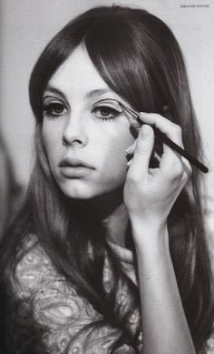 Edie Campbell: loving the sixties look   shot by Jessie Lily Adams   #obsessee