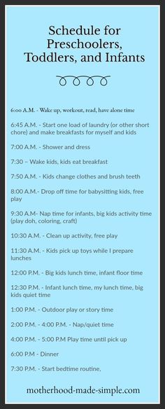 How to Plan Your Day For Productivity Without Sacrificing Time with Your Kids1