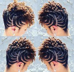 Natural Hair Updos: 35 Natural Updo Hairstyles For Prom Night, Frisuren, Natural Hair Updos For Prom Night. Prom Hair Updo, My Hairstyle, Girl Hairstyles, Braided Hairstyles, Natural Updo Hairstyles, Flat Twist Hairstyles, Trendy Hairstyles, Natural Hair Braids, Natural Hair Care