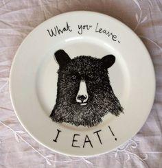 Bear! Bear! Bear! @Aniuux Rojas creo que merezco este plato! :P