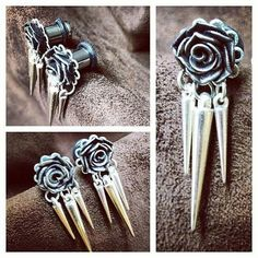 Rose spiked plugs