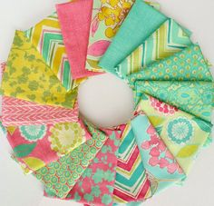 Fat Quarter Bundle  Spring House   by by BeeYourselfFabrics, $33.75---love this fabric SO PRETTY!