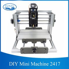(286.00$)  Watch now - http://aiizp.worlditems.win/all/product.php?id=32803883833 -  CNC 2417 DIY Wood Router 3 AXIS Mini PCB Milling Machine CNC Engraving  Metal Carving Machine for  GRBL Control