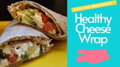 healthy cheese wrap| for healthy breakfast or lunch any time you want to healthy option in your healthy diet , cottage cheese and more than one kind of vegetables all in whole wheat tortilla bread #healthy#tortilla . Family Meals, Kids Meals, Tortilla Bread, Healthy Tortilla, Easy Healthy Recipes, Healthy Foods, Breakfast Wraps, Cheese Wrap, Good Food