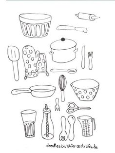 food doodles * food doodles ` food doodles bullet journal ` food doodles hand drawn ` food doodles easy ` food doodles creative ` food doodles kawaii ` food doodles step by step ` food doodles cute Food Doodles, Bujo Doodles, Sketchbook Drawings, Easy Drawings, Sketching, Doodle Coloring, Coloring Books, Kitchen Drawing, Cute Kitchen