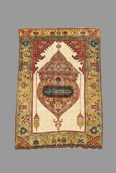 Persian Fereghan rug, 19th C (4th Q)