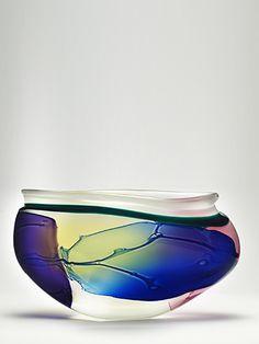 "4. Leon Applebaum   Lava, 1998   12 x 21.5 x 8""    Sold"