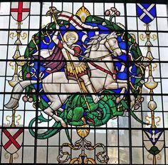 Staned Glass Window St Michael