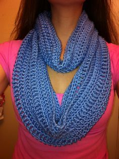 INFINITY SCARF The Icing on My Cake: Another Free Pattern
