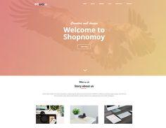 MoGo - Free Creative Template Free Portfolio Template, Creative Web Design, Corporate Website, Personal Portfolio, Responsive Web, Company Profile, Templates, Stencils, Template