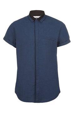 Topman Short Sleeve Cotton Shirt   Nordstrom Medium