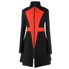 Jacket Black Red, £144, now featured on Fab.