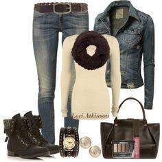 Denim for Fall #fashion